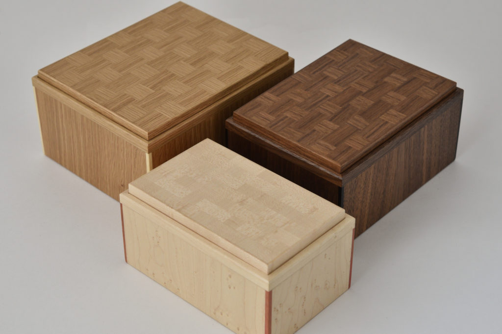 Parquetry Boxes
